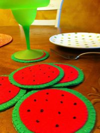 45 best images about Felt Coasters inspiration and