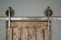 Details about 6 FT Rustic European Sliding Barn Door ...