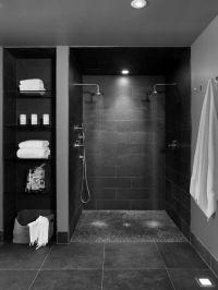Best 25+ Open Showers ideas on Pinterest   Small bathroom ...