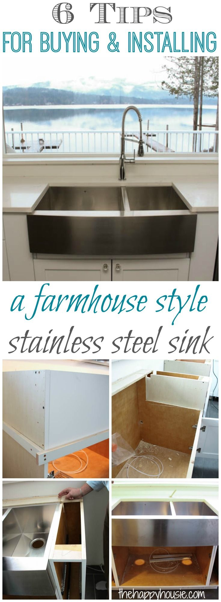 double kitchen sink kitchen sink styles Things to Know about Buying Installing a Stainless Steel Farmhouse Style Sink
