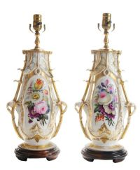 1000+ images about Dresden Porcelain Lamps on Pinterest