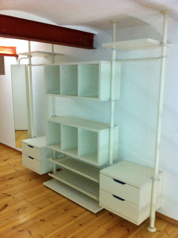 Kleiderschrank Used Look 17 Best Images About Ikea Stolmen On Pinterest | Wardrobe
