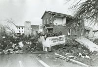 Xenia tornado destruction 1974. | Ohio | Pinterest | Tornados