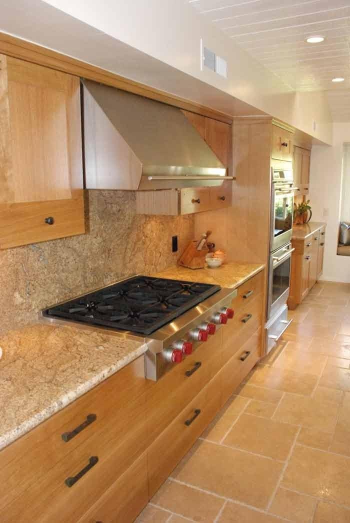rift white oak kitchen