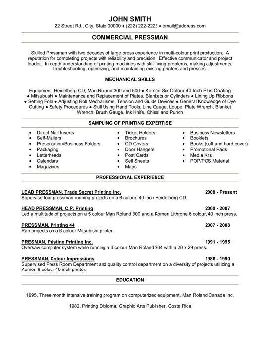 commercial diver resume sample