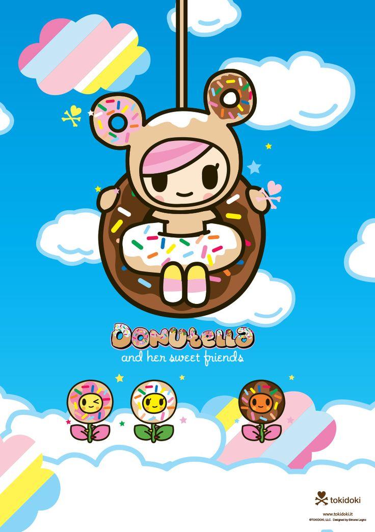 Donut Wallpaper Cute Donutella Is One Of My Very Favorite Tokidoki Characters