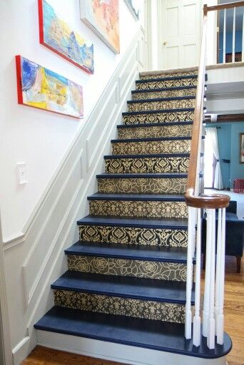1000+ ideas about Wallpaper Stairs on Pinterest | Wallpaper furniture, Flower wallpaper and ...
