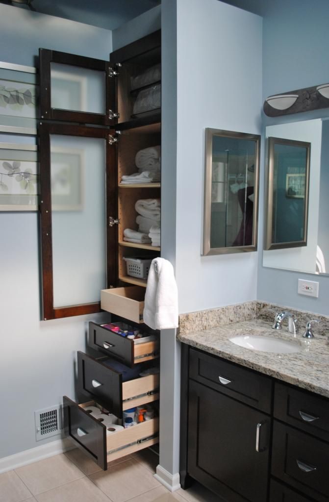 Built In Linen Closet Diy Woodworking Projects Plans