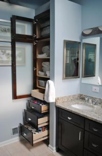 Bathroom Built in Closets | Master Bathroom Updated - X ...