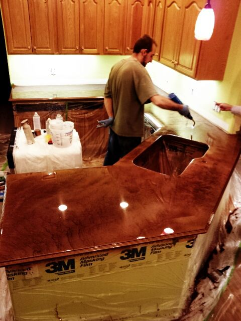 Home Diy Countertop Bar Top And Flooring Epoxy When I Build My Castle Pinterest