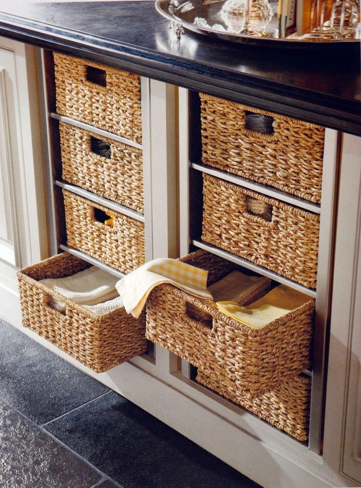 1000 Ideas About Kitchen Baskets On Pinterest Kitchen