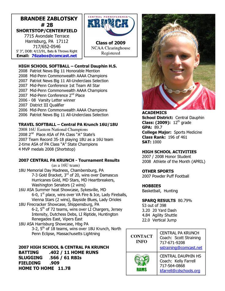 lacrosse coach resume examples