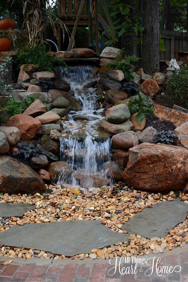 17 best images about backyard waterfalls and streams on pinterest
