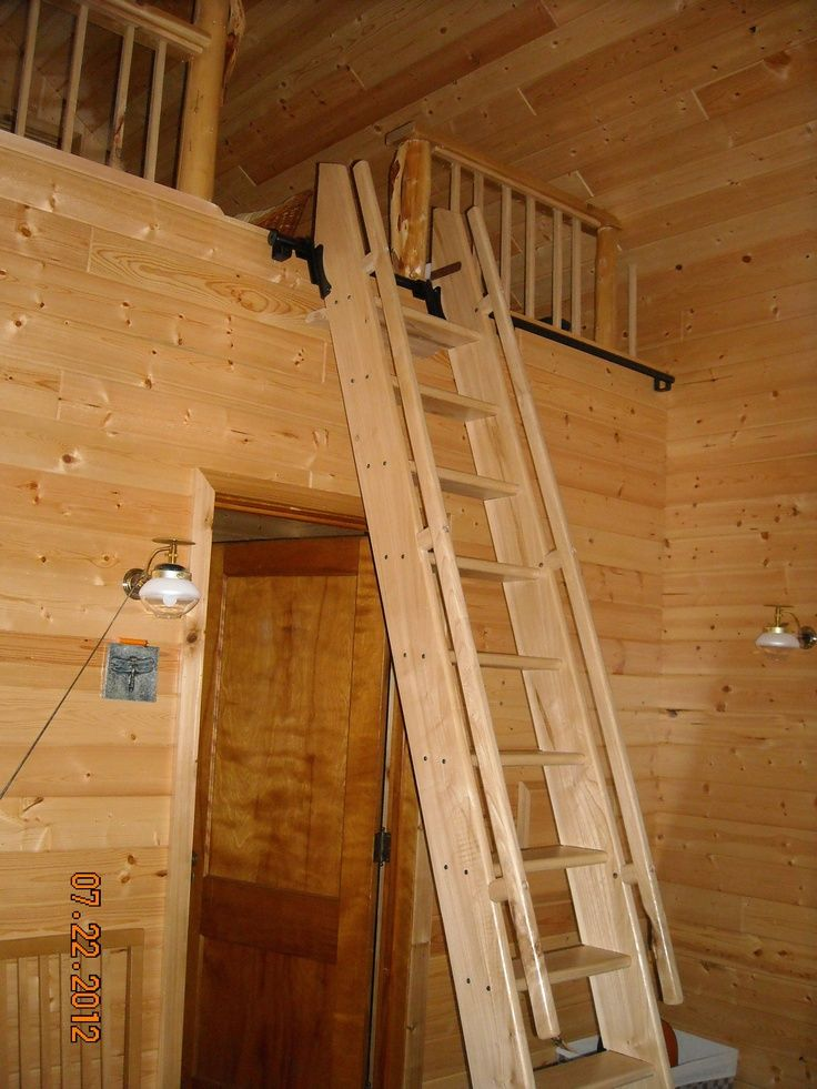 Ships Ladders For Lofts Elm Ship39s Style Ladder With