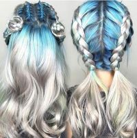 25+ best ideas about Colored Hair Styles on Pinterest ...