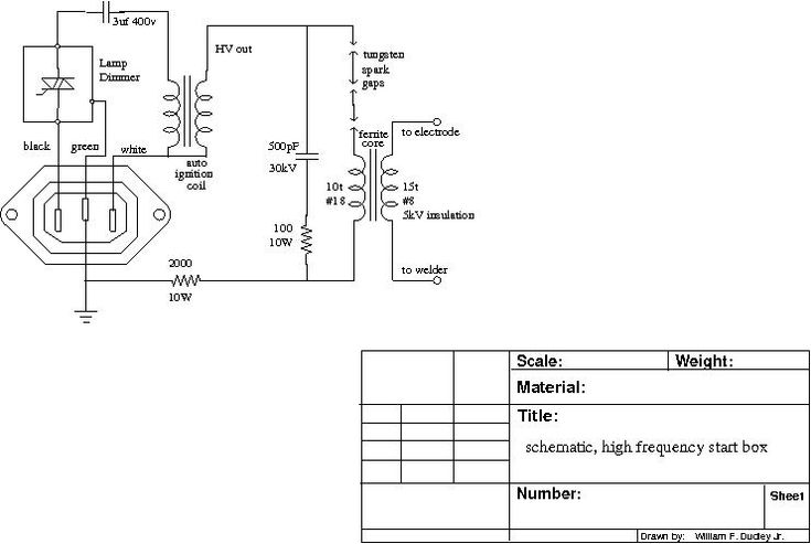air ionizer circuit diagrams