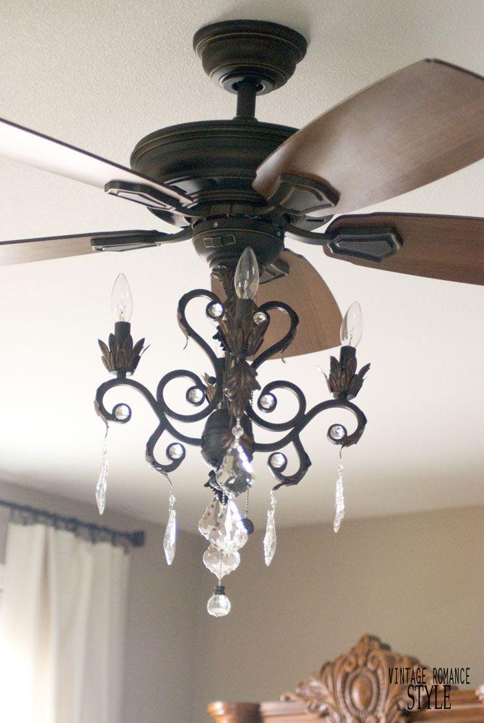 17 Best ideas about Ceiling Fan Chandelier on Pinterest