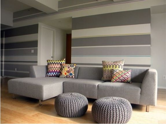 Wand Streichen Streifen Ideen Striped Wall: A Collection Of Home Decor Ideas To Try
