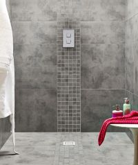 25+ best ideas about Grey bathroom tiles on Pinterest ...