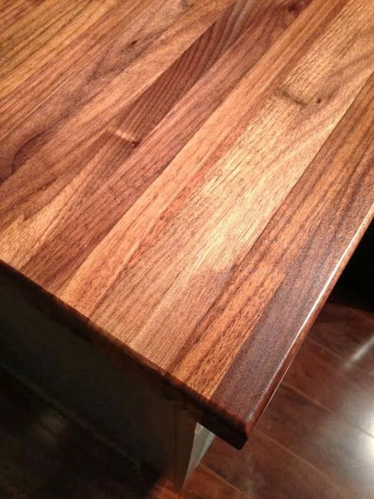 Ikea Wood Countertop How I Protect And Clean My Butcher Block Counters