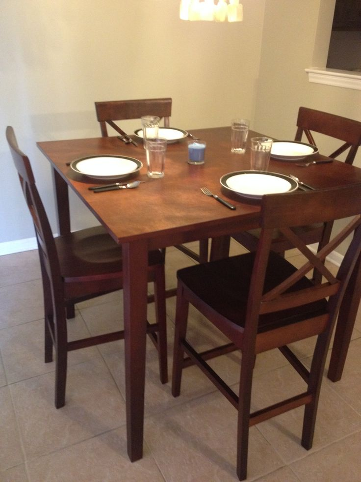 Tall Table Best 25+ Tall Kitchen Table Ideas Only On Pinterest | Tall