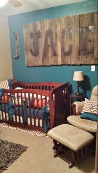 Rustic boys room