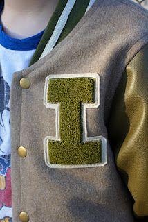 Cute Stitch Phone Wallpaper Needle Punch Letter Tutorial Mini Varsity Style Jackets