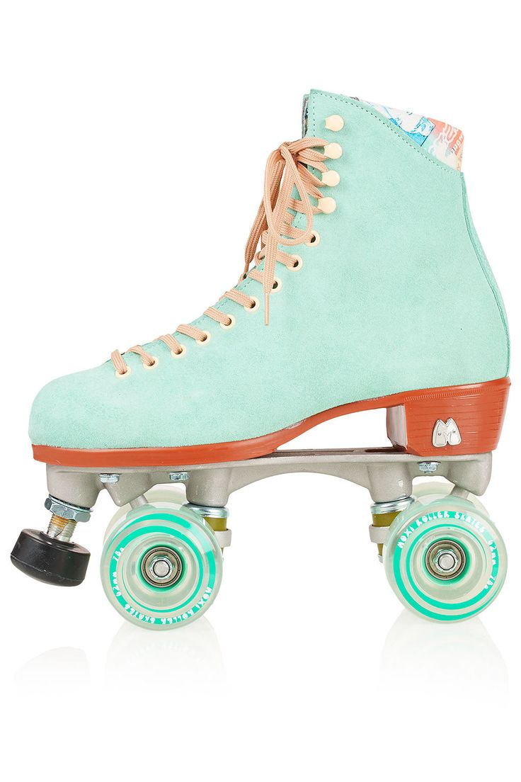 Mint roller skates how fun are these