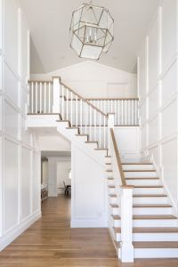 Best 25+ White Stairs ideas on Pinterest   Stair makeover ...