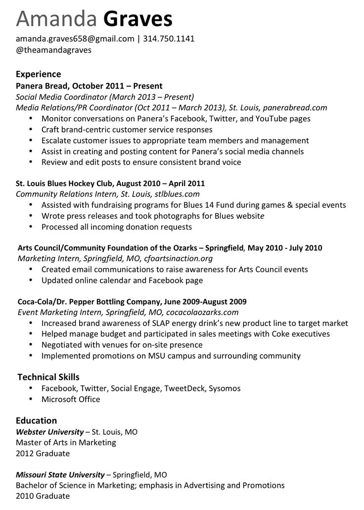 resume overlapping jobs dates