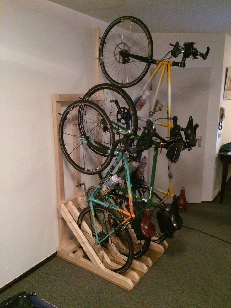25 Best Ideas About Vertical Bike Rack On Pinterest