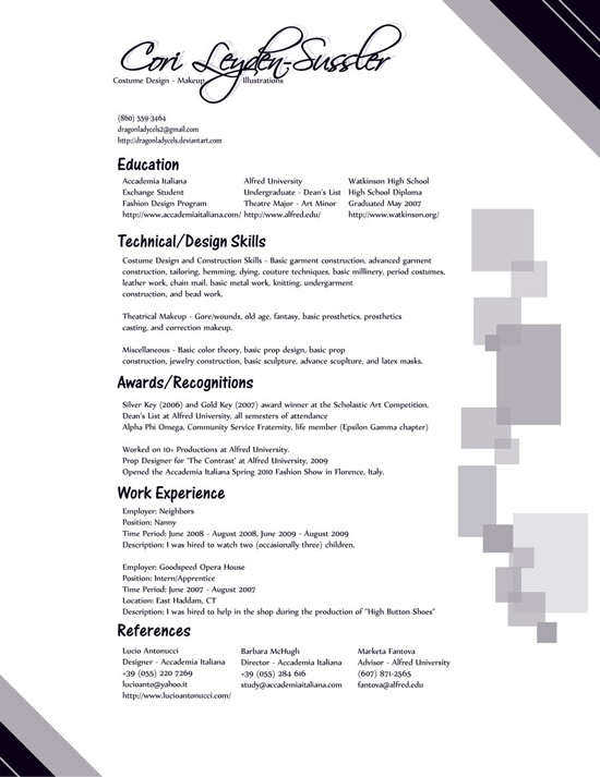 17 Best Images About Resume Design On Pinterest | Infographic