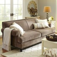 25+ best ideas about Taupe Sofa on Pinterest | Cottage ...