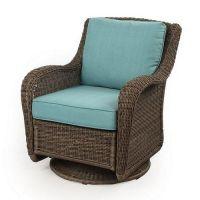SONOMA outdoors Presidio Wicker Swivel Chair | Patio ...