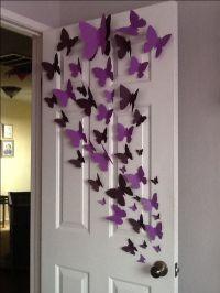 25+ best ideas about Butterfly wall art on Pinterest ...