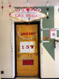 Classroom door decorating contest