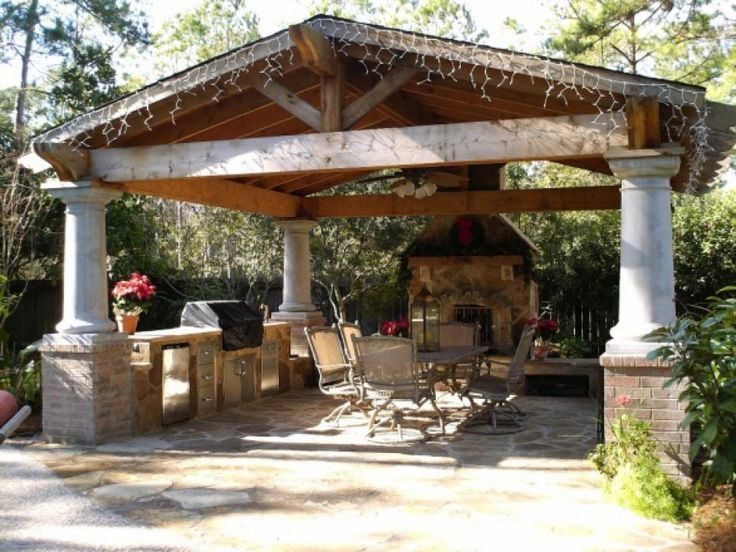 Inexpensive Hardscape Ideas Outdoor Room Design Ideas For Any Budget | Pavilion