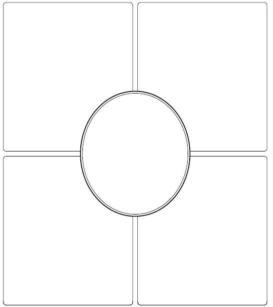 frayer model template blank