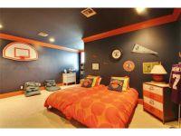 Carpet, Crown molding, Contemporary basket ball boy's ...