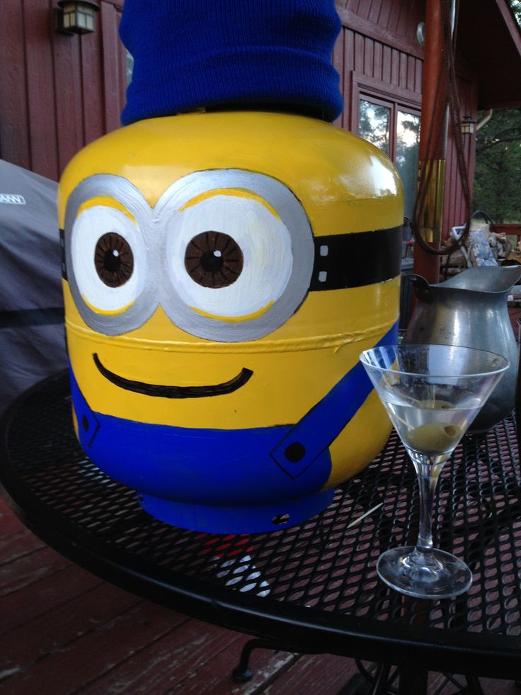 155 Best Images About Painted Propane Tanks On Pinterest