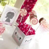 #GenderReveal Baby Shower Ideas - Pink Brownie Pops ...