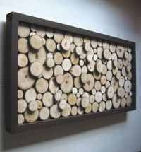 Rustic, Wood Slice, Sculpture,Wall Art, Abstract, Tree ...