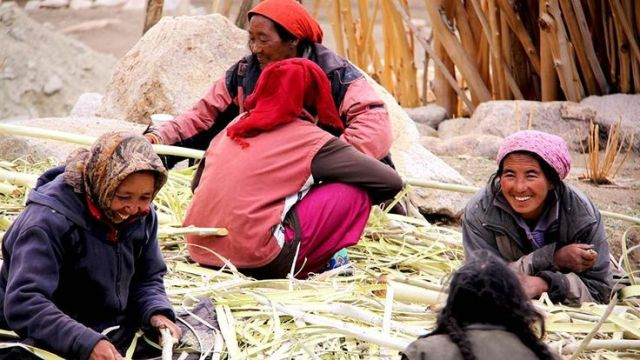 Staying in village houses in Ladakh gives you incredible access to local life and culture