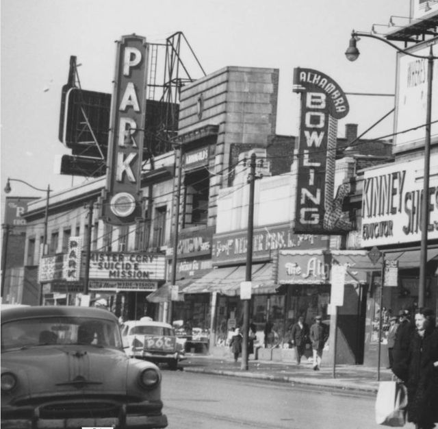 Tivoli Ny Stores East 105th Street In Cleveland Ohio In 1960 | Viewing