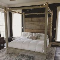 25+ best Wood canopy bed ideas on Pinterest