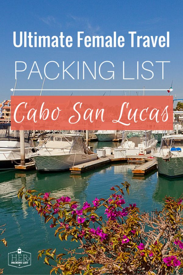 packing lists for trips
