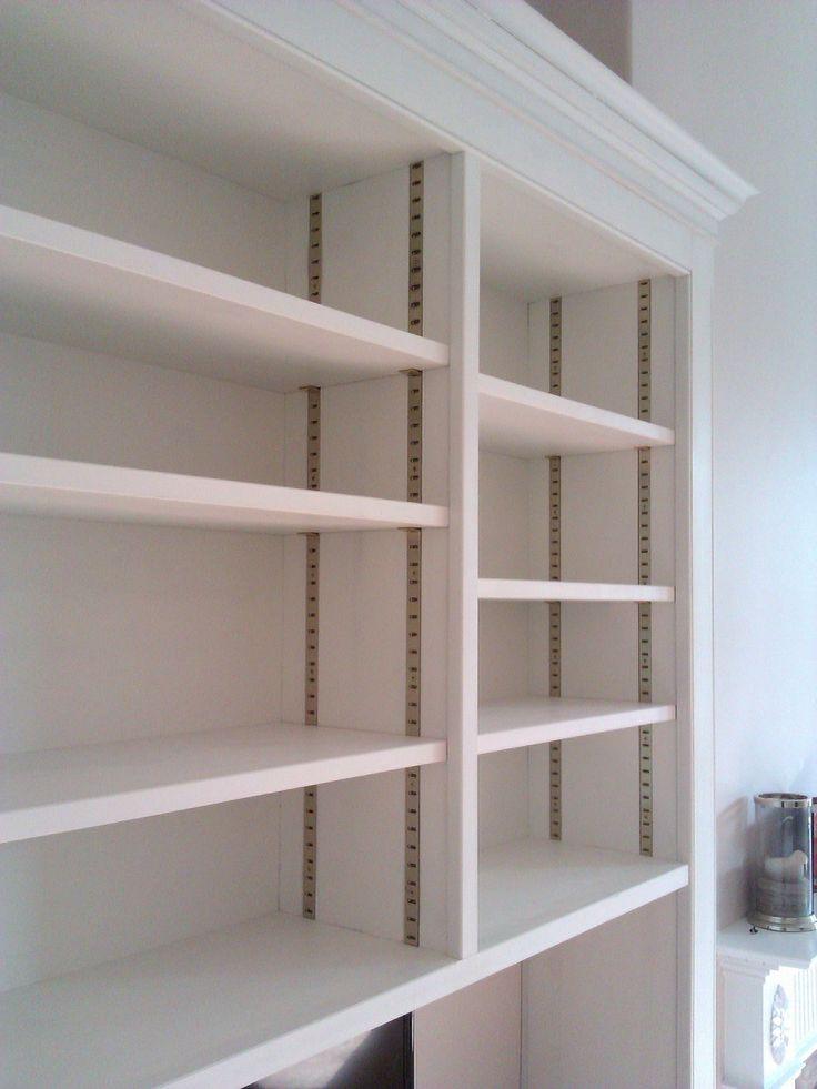 Brass Adjustable Shelving System Pantry Pinterest