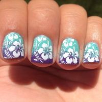 25+ best Hawaiian flower nails ideas on Pinterest