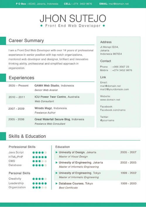 microsoft resume templates for students