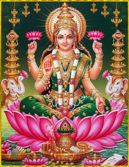 Durga 3d Live Wallpaper Shri Lakshmi Devi ॐ Hindu Pinterest Posts